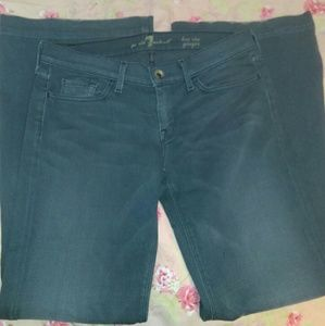 7 for all mankind jeans.  Size 30